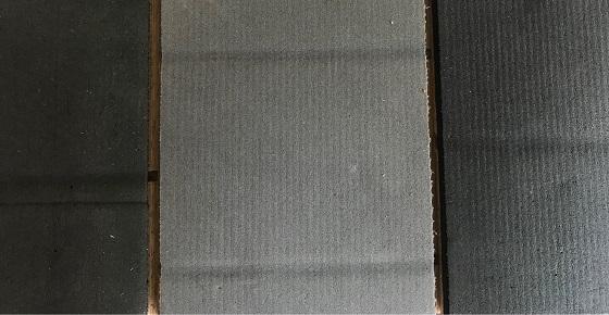 ナラ直貼り用フローリング 裏の特殊クッション