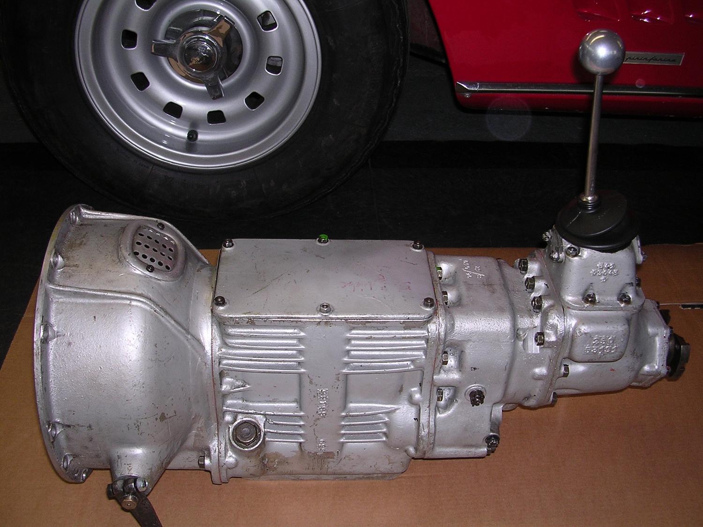 Ein von mir restauriertes Ferrari 250 GTO Getriebe.