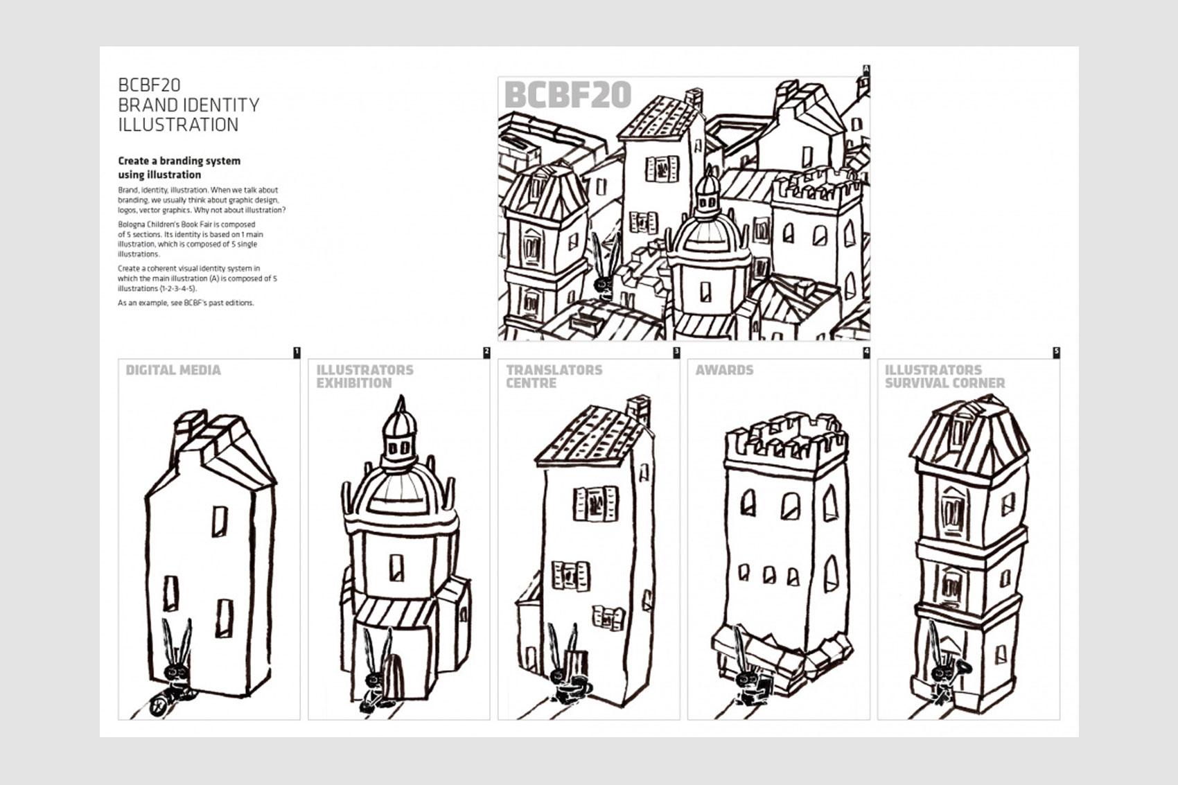 Bologna children's book fair 2020 Visual identity COMPETITION