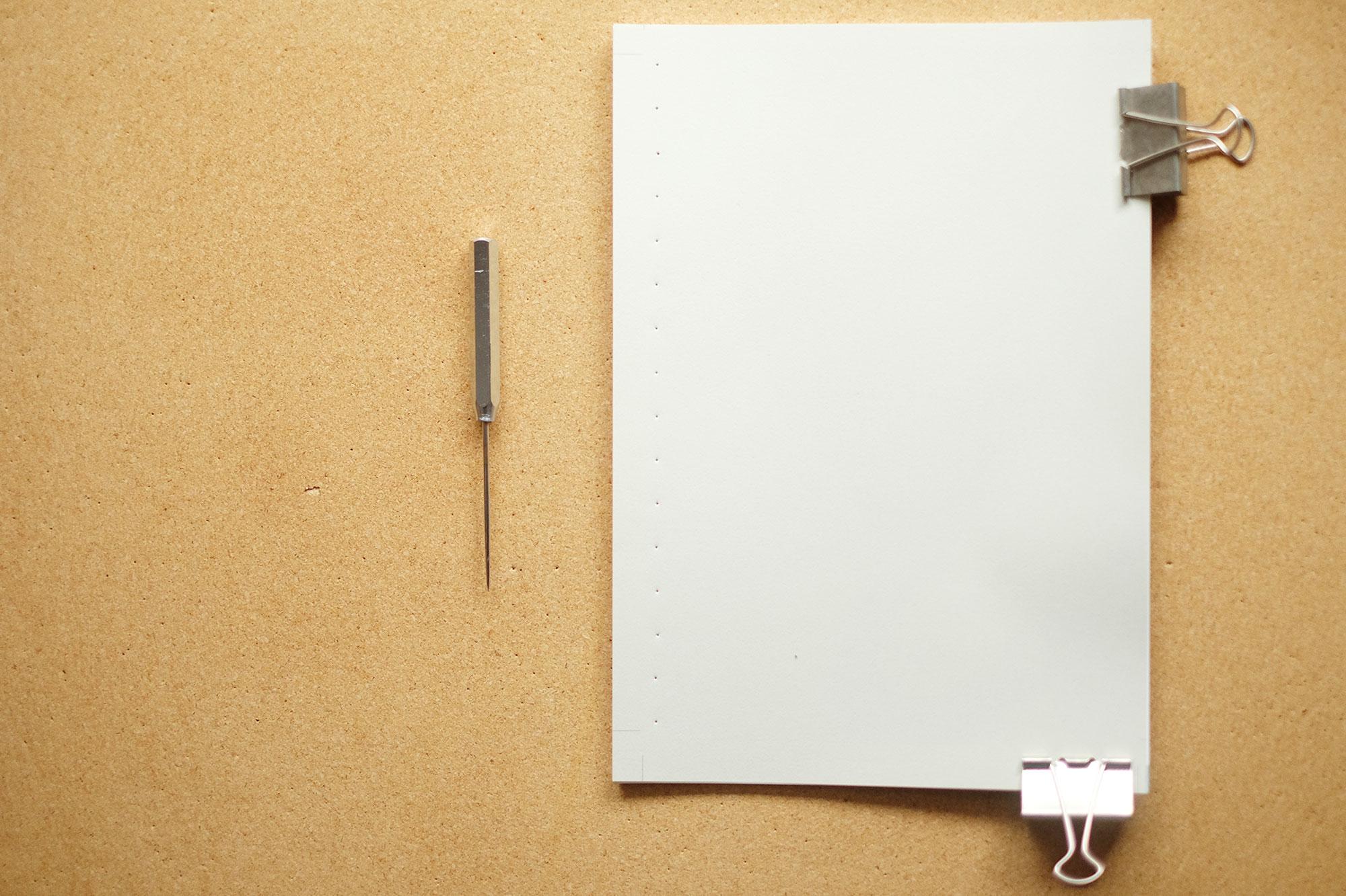 手作り絵本のための手製本