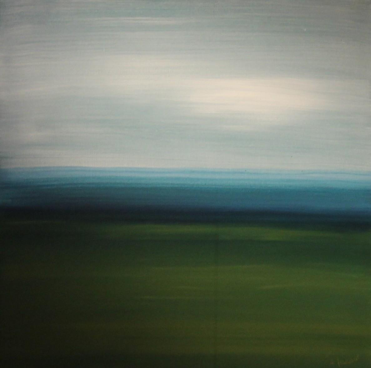 Kein Weg II,  60 x 60 Leinwand, Acryl