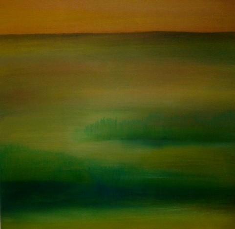 o.T. , 60 x 60, Leinwand, Pigmente, Acryl