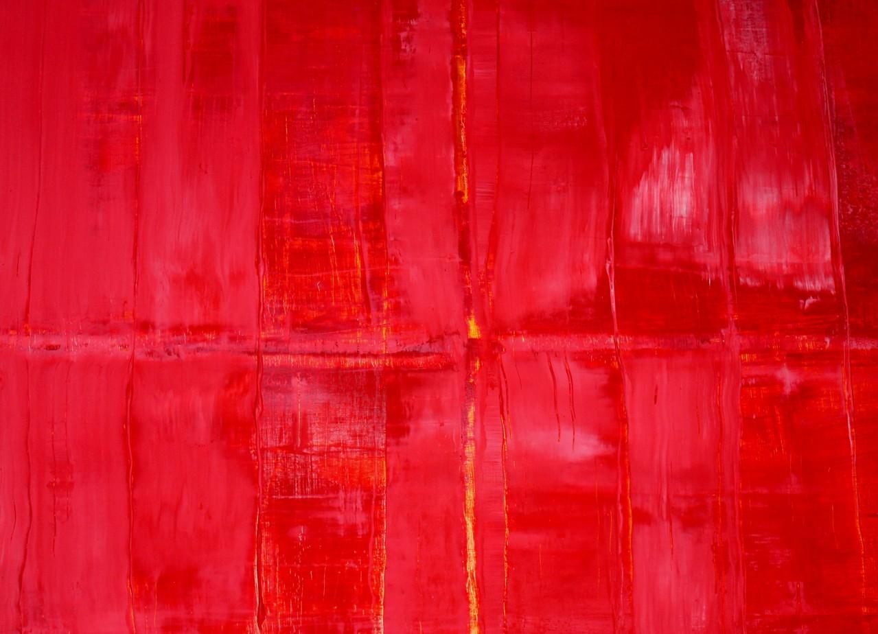 o. T., Acryl auf Leinwand, gespachtelt 80x100