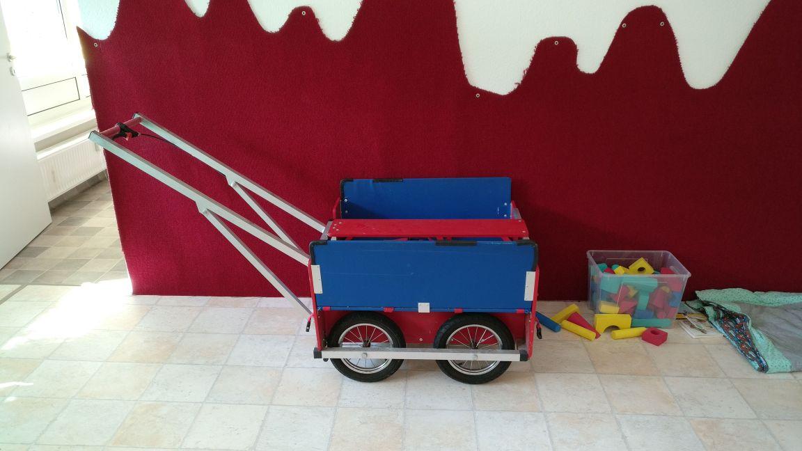 Unser toller Krippenwagen :)