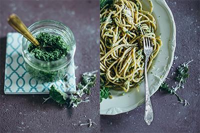 Radieschenblätter Pesto