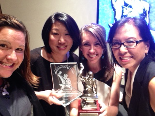 The Yu Crew at PRSA's Silver Anvil Awards