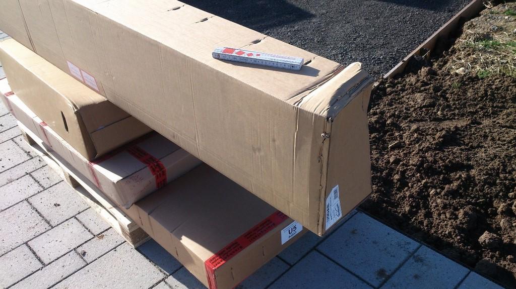 Noch sind die Pakete zu.