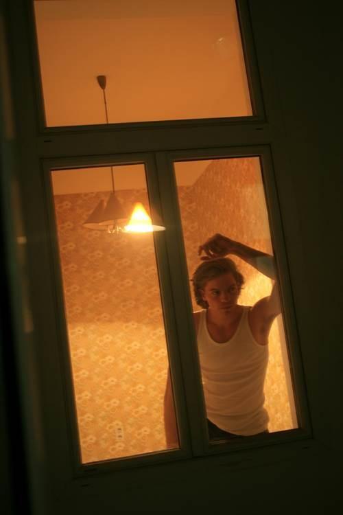 Das Fenster zum Hof, 20x30cm, 2007