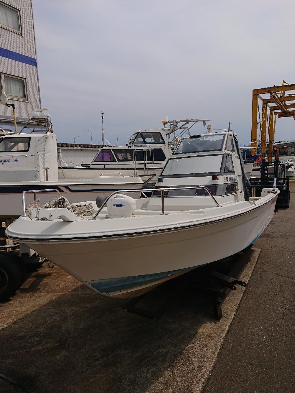 清水マリン中古艇 ヤマハUF-23