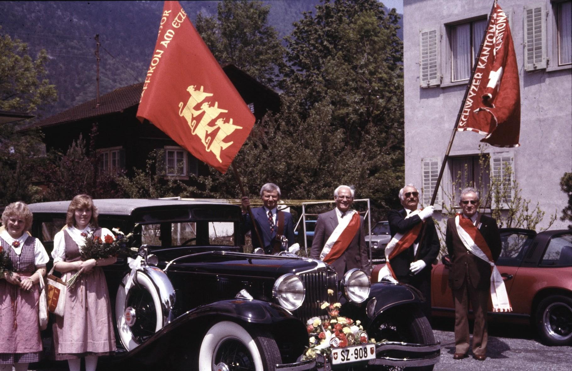 Kantonal-Gesangfest in Brunnen 1983