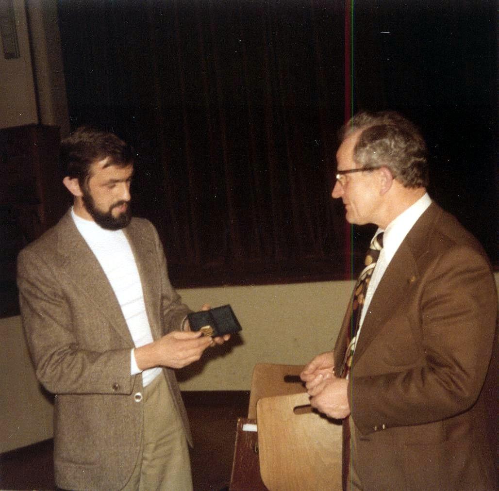 GV 1978 - Ernennung zum Ehrenpräsidenten