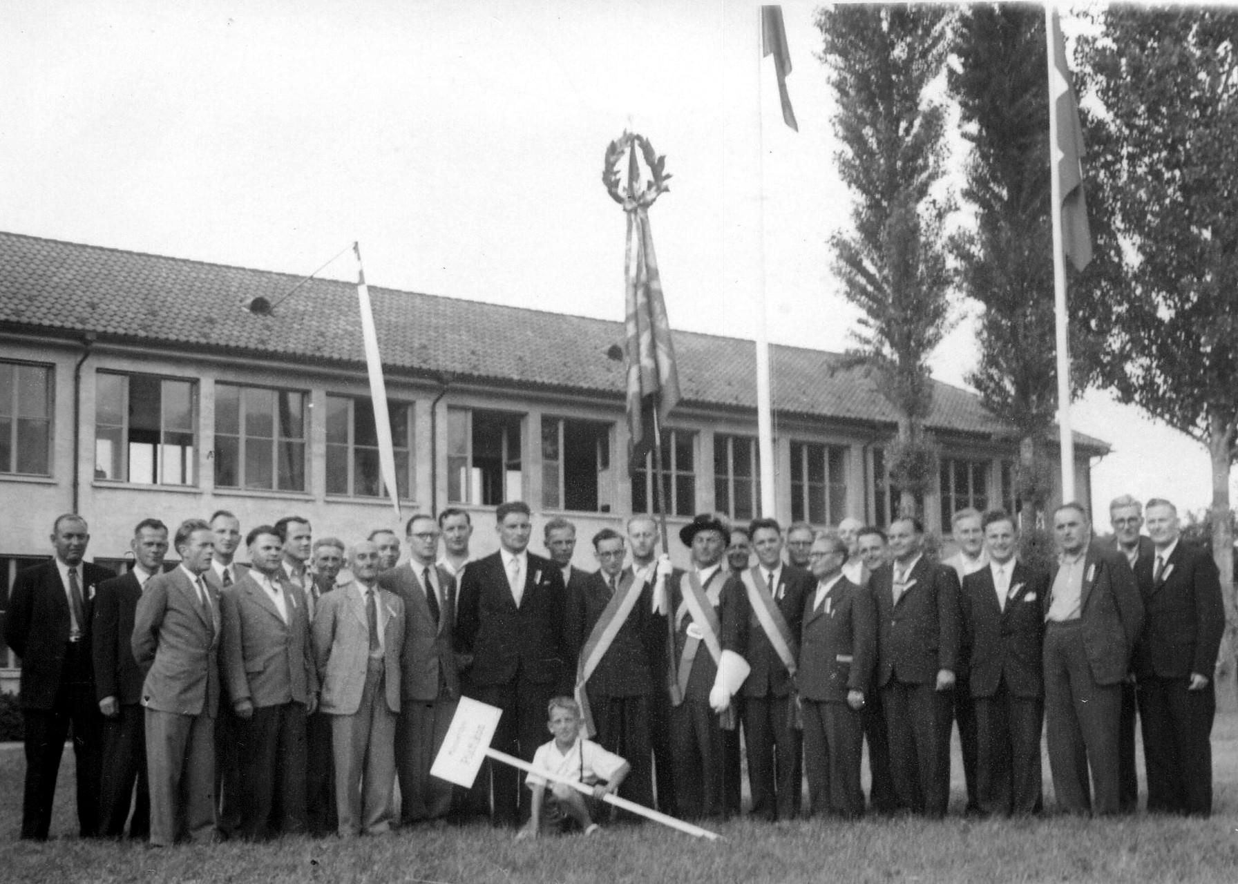 Kantonal-Gesangfest in Lachen 1950