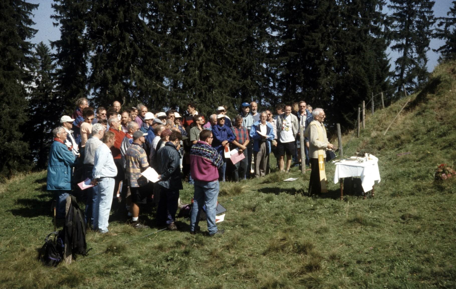 Stöcklichrüz-Gottesdienst 1999