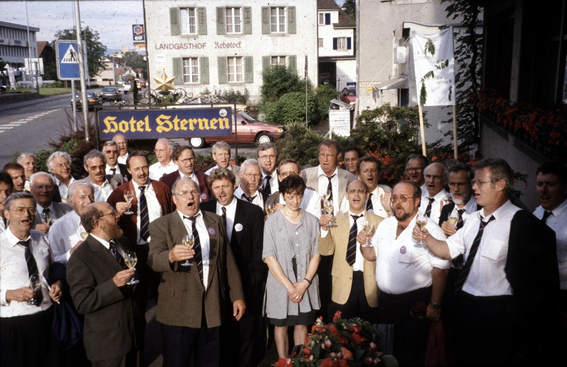 Rückkehr vom Zentralschweizer Gesangfest 1997