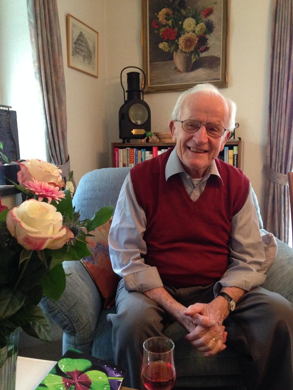 90 Jahre Franz Niedermann