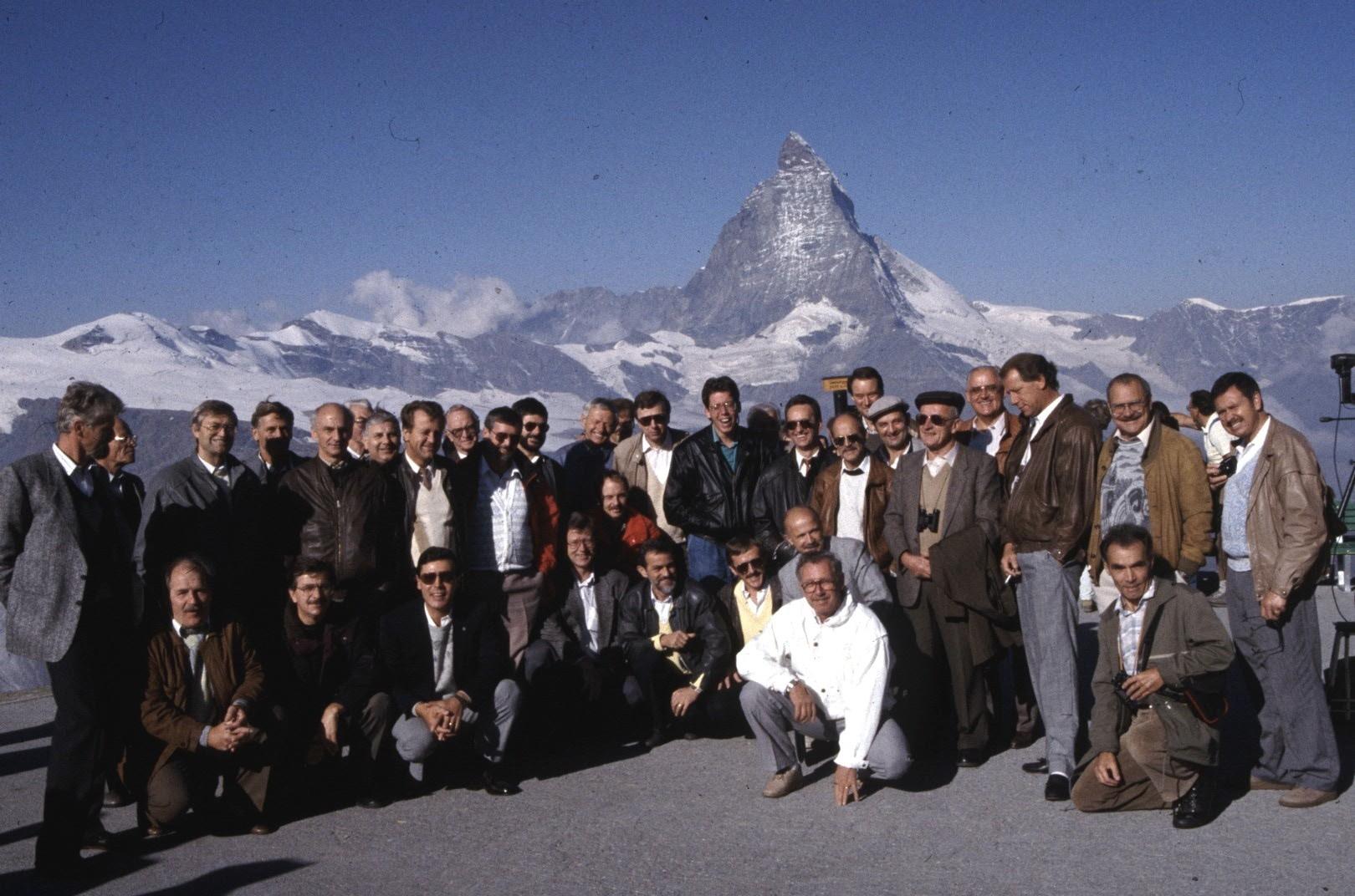 Sängerreise 1989 nach Zermatt