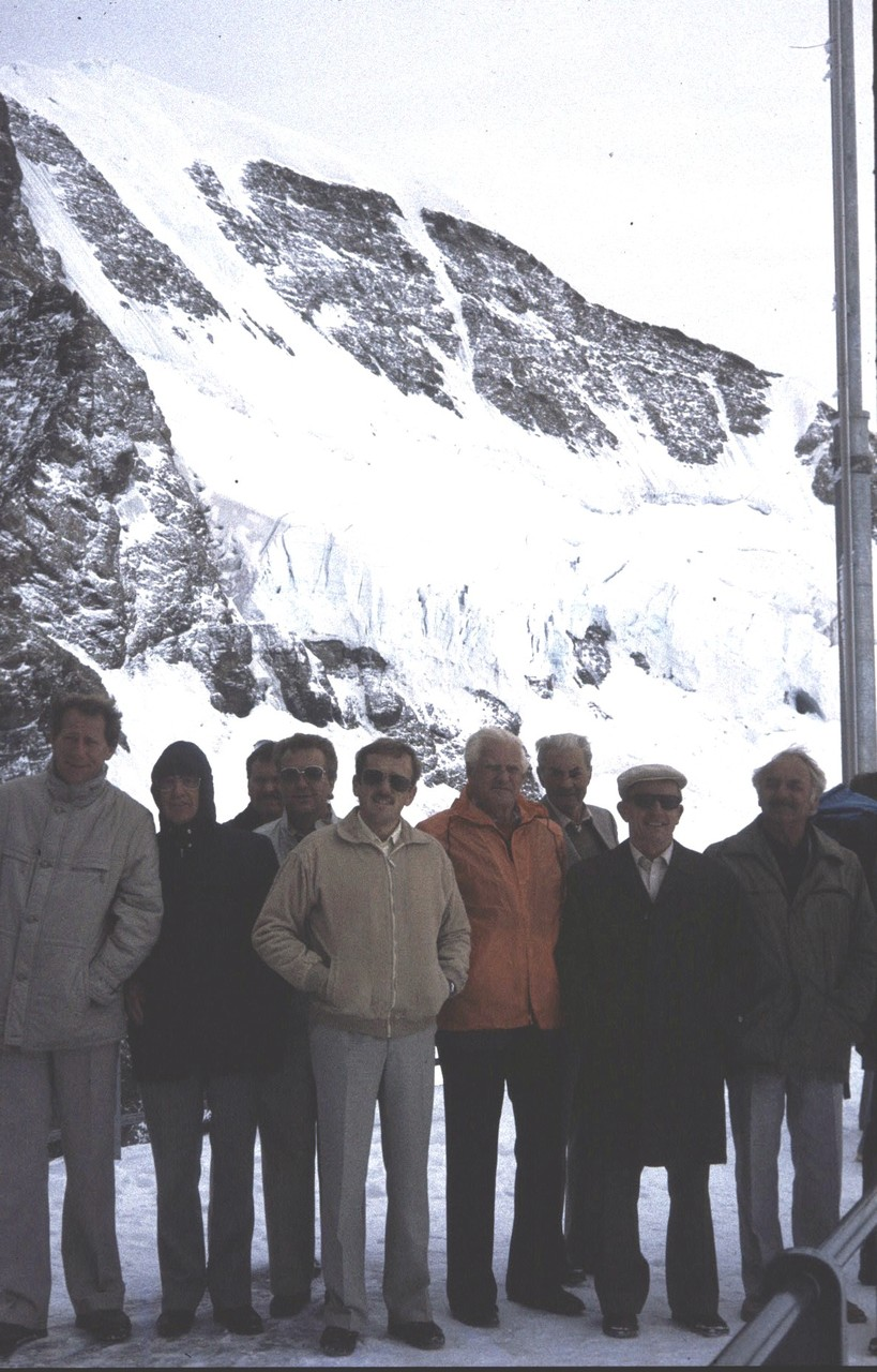 Chorreise aufs Jungfraujoch
