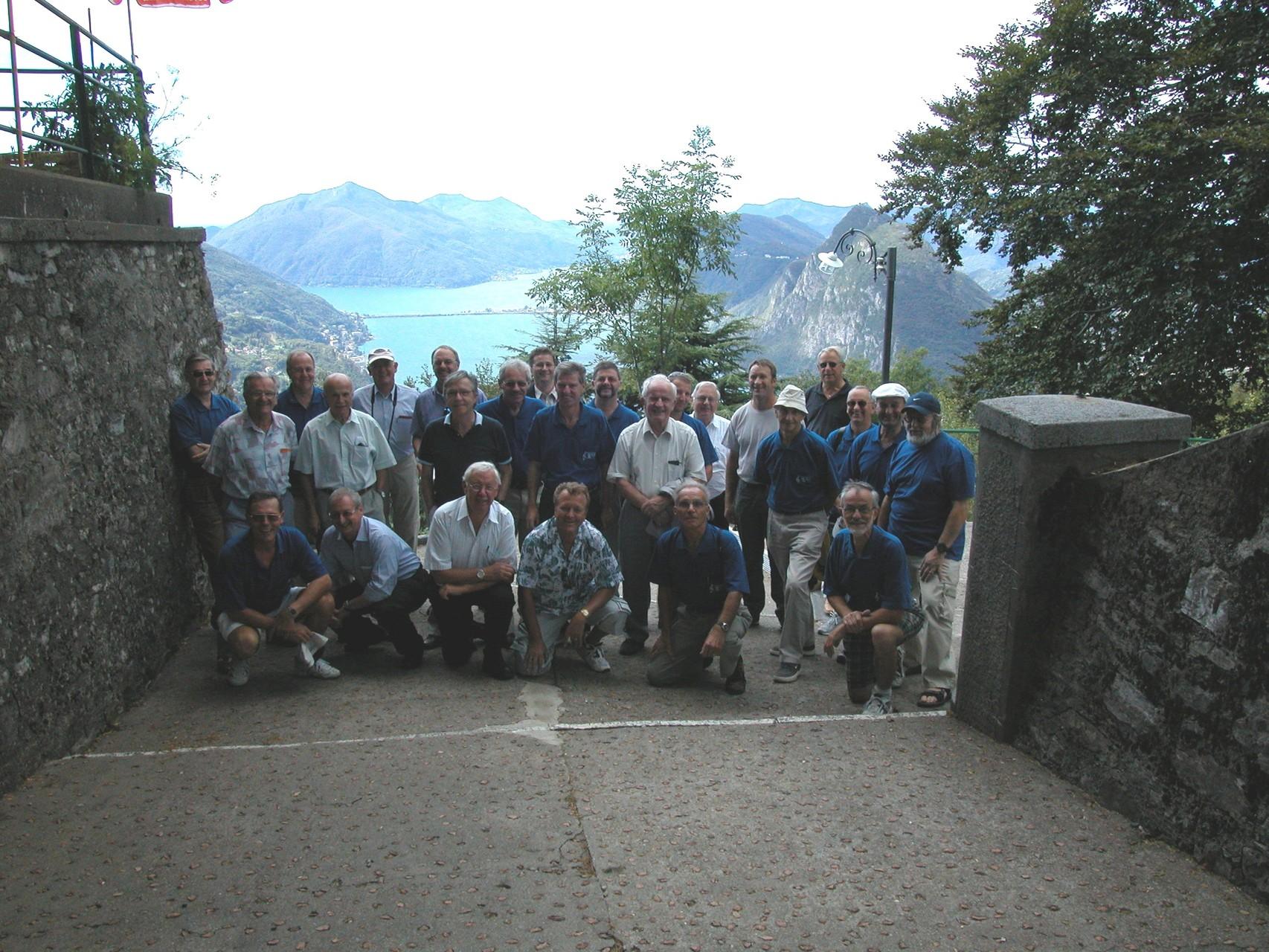 Männerchorreise ins Tessin 2003
