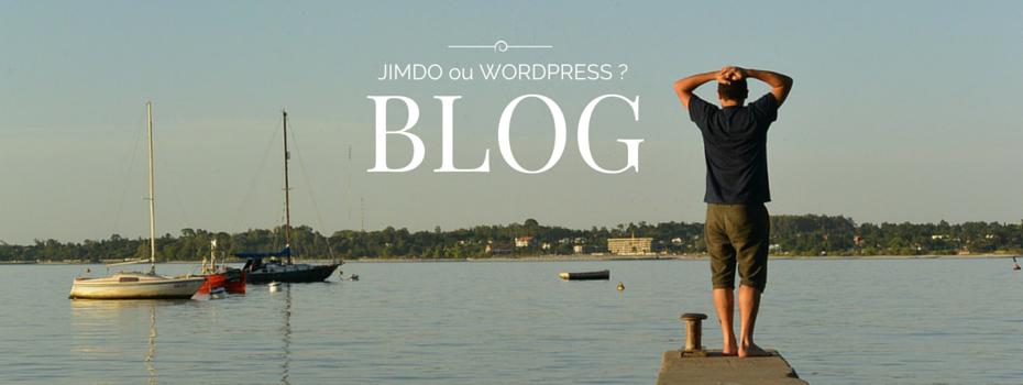 Quel est le meilleur outil de blog : Wordpress ou Jimdo ?