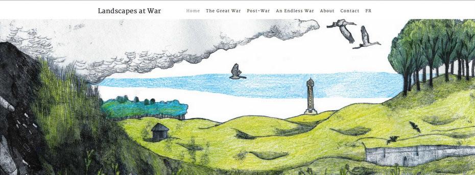 Nouveau site en anglais pour Paysages en Bataille