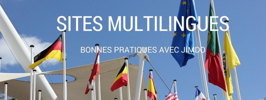 Bonnes pratiques pour un site Jimdo multilingue