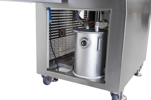 Auffangbehälter für Wasser und Fett