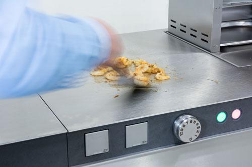 Garen mit dem Wok bis 250 °C