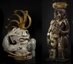 Sculptures récentes présentées dans le catalogue
