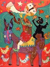 l'âne troubadour