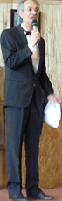 Le Président Jean-Luc Bourdila