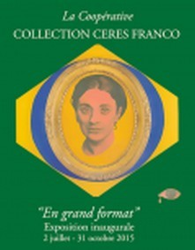 L'affiche de l'inauguration de la Coopérative Collection Cérès Franco