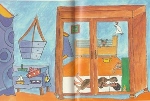 La chambre où vivait Aconcha et sa famille