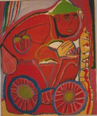 Chaïbian, marocaine, l'une des premières artistes collectionnée par Cérès Franco