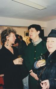 Florence Desserin (G) et le public