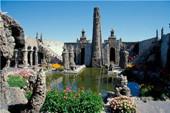 l'étrange musée de robert tatin: le jardin de la méditation