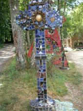 2 sculptures d'accueil