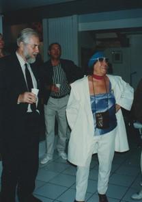 Mirabelle Dors  et le Président des artistes de Moscou 1990