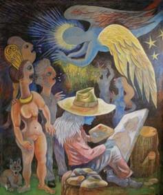L'ange du peintre