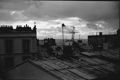Les toits de Paris depuis Montmartre. 1991