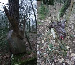 Sculptures en bois de Récup'