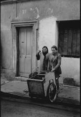 Les rémouleurs de la rue Levert, Paris XXe. 1987