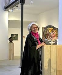 Dominique dans sa galerie