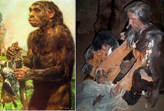 Cromagnon et Néanderthal