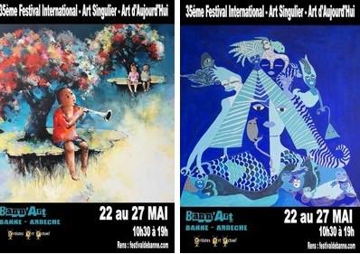 Les affiches du festival