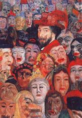 Autoportrait aux masques