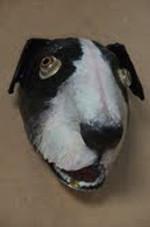le chien sculpture