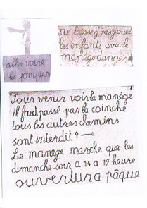 Quelques pancartes de Petit Pierre