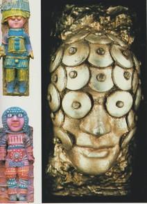 """Mirabelle Dors : Deux """"Poupées"""" (1975)  et """"Tête aux disques de métal (1971)"""