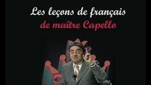 Maître Capello, la leçon de français : la disparition de la négation