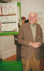 Maurice Rapin à la galerie Jean-Claude Riedel (2000)